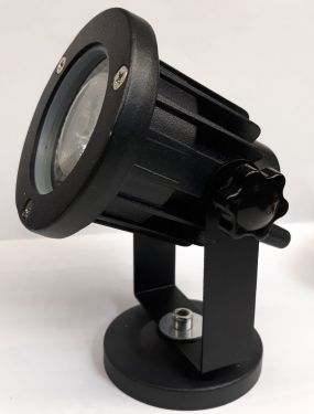 PinSpot LED 5W DMX HF et IR
