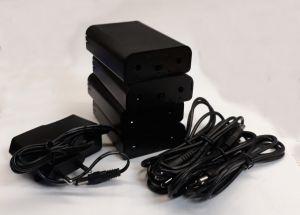 PACK 4 Batteries 12V , coupleur 3 accus LI-ION 18650 + 1 Chargeur