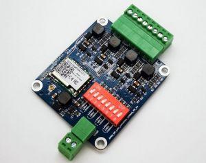 Carte DMX HF Contrôleur de Leds de puissance 4 canaux 350mA-1020mA