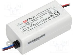 Alimentation Mean Well 220V-12V ,12W