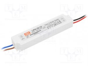 Alimentation Mean Well 220V-12V ,18W
