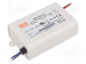 Alimentation Mean Well 220V-12V ,35W