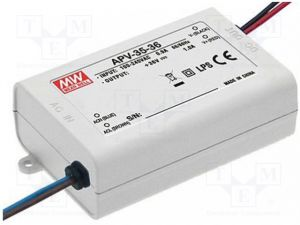 Alimentation Mean Well 220V-24V ,35W