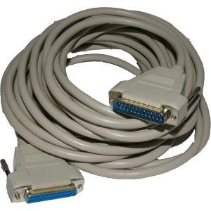 Cable ILDA SUBD25 Male Femelle 10 Metres