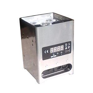 DECOLED512HF , Projecteur de décoration sur batterie 60W RGBWA+UV DMX HF (Chrome)