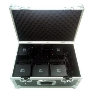 PACK 5 DECOLED512HF + Flight case de chargement