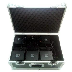 PACK 5 DECOLED512HF + Flight case de chargement