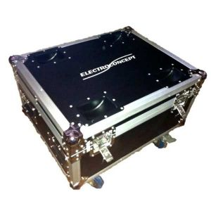 Flight case scanner 60 LED