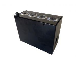 Decoled45HF version MKIII  , Projecteur de décoration sur batterie 40W RGBWA+UV DMX HF