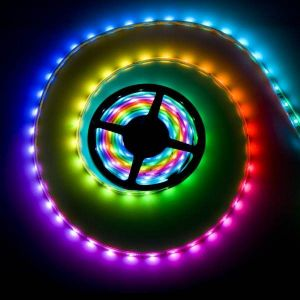 DIGITAL Led Strip RGB 12 Volts 60 LEDS/METRE BOBINE DE 5 Mètres ETANCHE