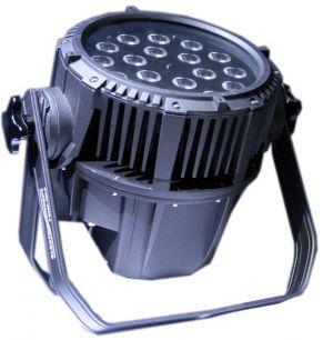 QPar 188 IP  ELECTROCONCEPT FULL RGBWA+UV 18X10W DMX HF