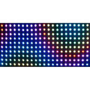 Rideau LED 2X1M Artnet .