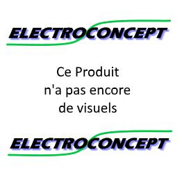 PACK DE 8 Projecteur MATRIX 430 electroconcept DMX HF + FLIGHT CASE