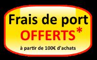 frais de ports offerts des 100€